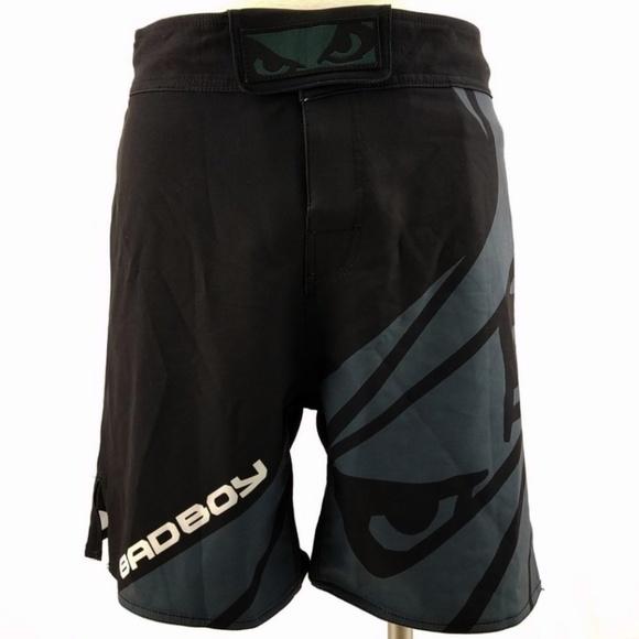 b39d7d0e6 Bad Boy Shorts | Velocity Blackgrey Stretch Fight | Poshmark